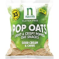 Nairn'S | Popped Oat Chips Sour Cream | 14 X 20G