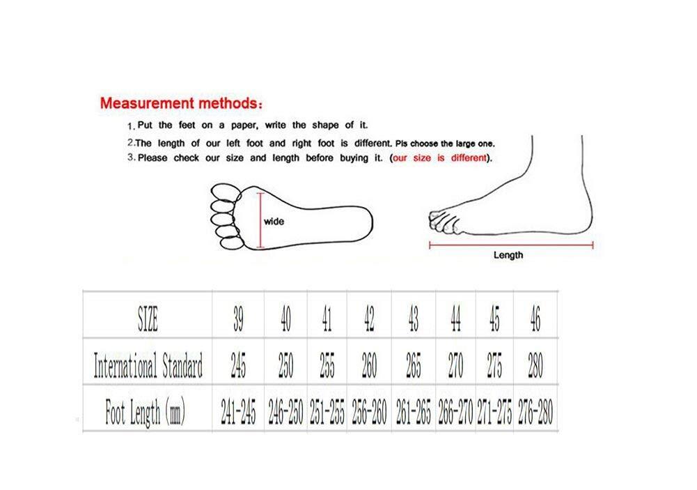 WYX Neue Herren-Turnschuhe Sportschuhe im Freien Casual Mens Schuhe Schuhe Schuhe Schoß Breathable Running schuhe,B,44 8f7330
