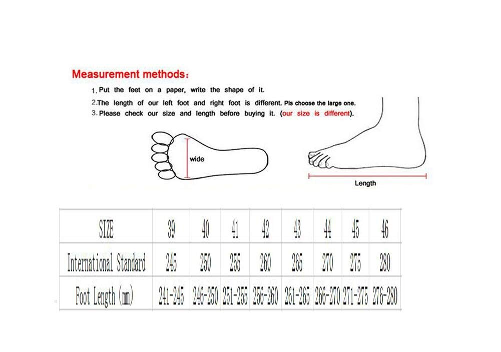 WYX Casual Neue Herren-Turnschuhe Sportschuhe im Freien Casual WYX Mens Schuhe Schoß Breathable Running schuhe,C,44 92780c
