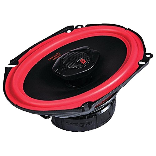 CERWIN VEGA V468 6-Inch x 8-Inch 400 Watts Max/75Watts RMS Power Handling 2-Way Coaxial Speaker Set (Car Speakers 6x8)