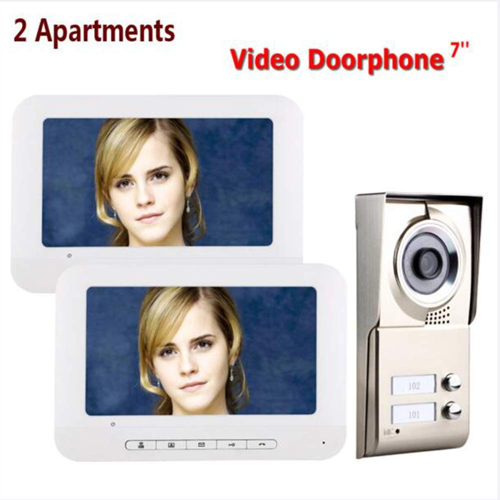 TONGTONG Video Doorbell, 720P HD Doorbell Camera Mit Two-Way Talk & Video, PIR Motion Detection, IR Night Vision Wireless Video Wasserdicht Doorbell