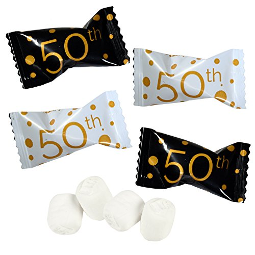 50th Anniversary Buttermints, 14 oz. (396g) (Gift Baskets 50th Anniversary)