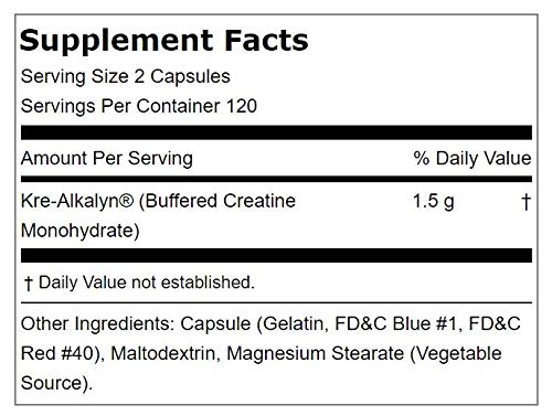 Fitness Labs Kre-Alkalyn 1500, 240 Capsules by Fitness Labs (Image #1)