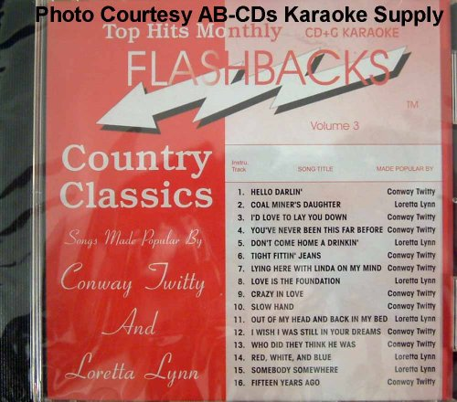 - Top Hits Monthly Flashbacks Country Classics: Songs Made Popular By Conway Twitty and Loretta Lynn