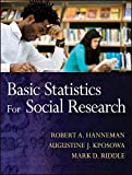 Basic Statistics for Social Research 1st Edition