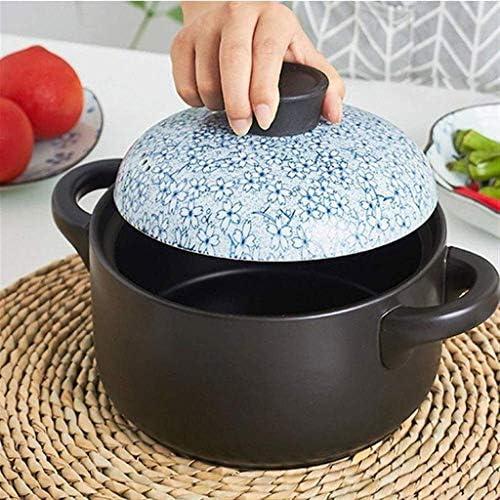 HZXLYG Einfach und langlebig SBWFH Casserole - Start Gas Suppe Claypot Reis Feuer Eintopf-Suppe Gewerbe Mini Keramik (Size : 3.5L)