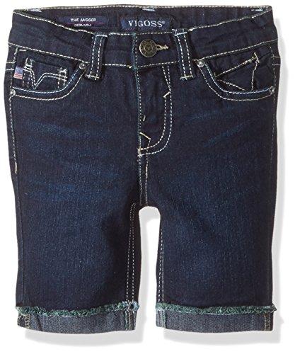 VIGOSS Girls' Little' Bermuda Short, Stitch Rinse Da, ()