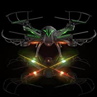 Beebeerun Wifi FPV Quadcopter Drone with Camera Live Video 2.4GHz Headless Mode Altitude Hold One-Key Function VR Headset-Compatible Gravity Induction Damage Resistance by Arkmiido