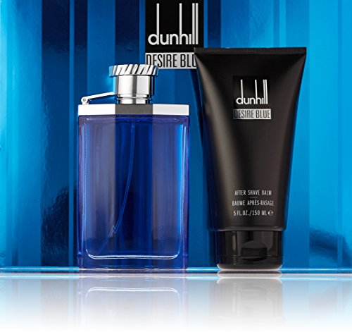 Alfred Dunhill Desire Blue 2 Piece Gift Set for Men (Alfred Dunhill Desire Edt Spray)