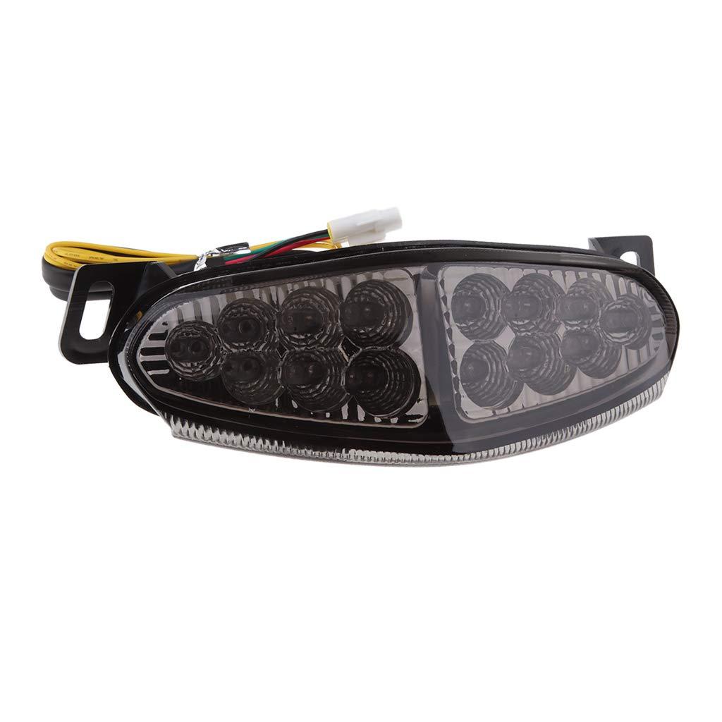 Flameer Motor Rear Lamp LED Tail Light for Kawasaki Ninja 650R//ER6N 2009-2011