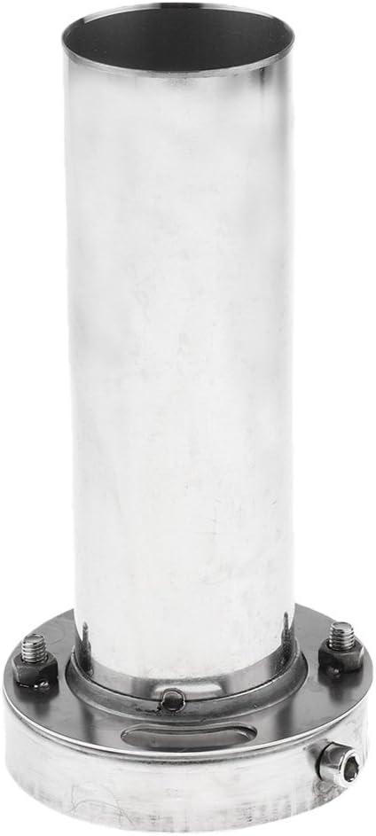 3.5 inch 85mm 98mm 110mm Adjustable Round Tip Silencer Exhaust Muffler Adjustable Removable Silencer
