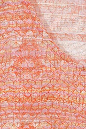 Luftige Baumwoll-Bluse mit Summer-Print