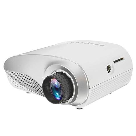 PFMY.DG Mini proyector Full HD portátil 1080P 3D HD LED Proyector ...