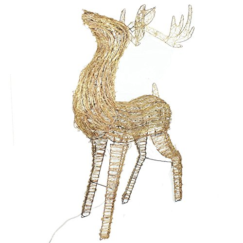 Led Lighted Buck Reindeer in US - 7