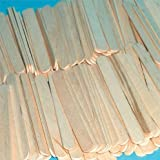 Bâtonnets de sucette en bois naturel-Lot de 1000