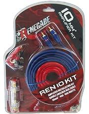 Renegade REN10KIT cavo di interfaccia e adattatore RCA Nero, Blu, Rosso