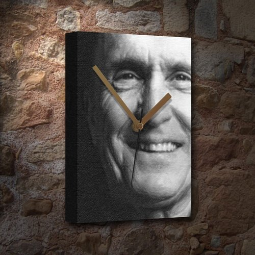 Seasons Robert Duvall - Canvas Clock (A5 - Signed by The Artist) #js002 (To Kill A Mockingbird Q And A)