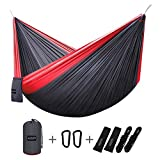 Lightweight, Compact and Versatile  G4Free Hammocks are super lightweight and compact enough for backpacking, hiking, camping or traveling. These versatile parachute nylon hammocks are also perfect for backyards, parks or beaches. Wherever you decid...