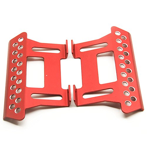 MOHERO Alloy Side Pedal Plates #E for 1:10 Axial SCX10 RC Crawler Car Pack of 2 ()