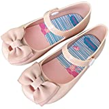 iFANS Girls Princess Smell Sweet Bow Jelly Shoes Toddler Kids Mary Jane Flats