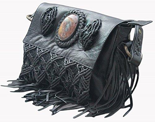 Nero Bag Donna keona M 11sunshop Sacco Manici 4tqPv5w