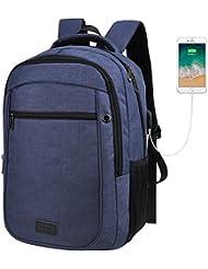 EDODAY Laptop Backpack For Men Women,School Backpacks For College, Travel Backpack With USB Port