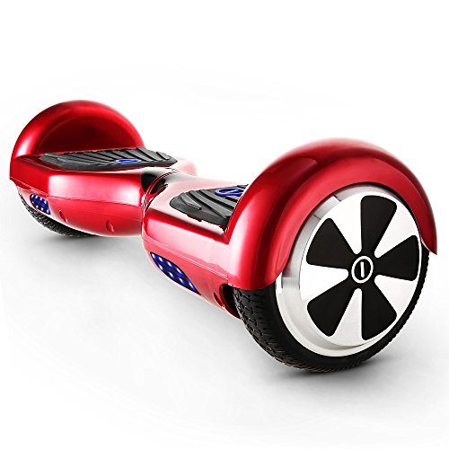 Coocheer 6.5 inch Self Balancing Scooter Hoverboard UL2272 Certified Smart Electric Personal Transportation(Smart-S)