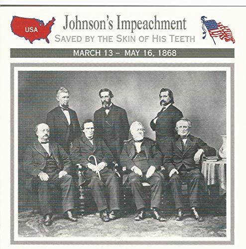 (1995 Atlas, Civil War Cards, 10.20 President Johnson's)