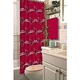 NFL Arizona Cardinals Decorative Shower Curtain