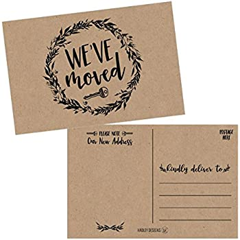 amazon com jot mark we ve moved postcards for moving