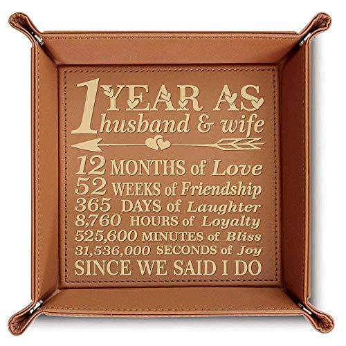 BELLA BUSTA Husband Engraved Leather