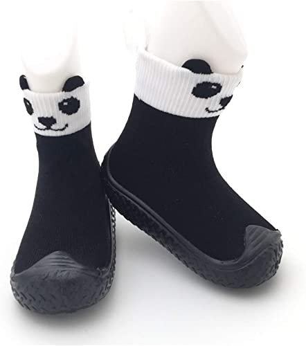 Tickle Toes Black /& White Panda Non Skids Proof Shoes 6674L