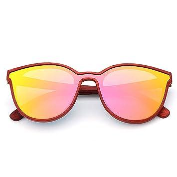 Gafas sol Moda de Bambú Y Madera, Sola Pieza, Gafas ...
