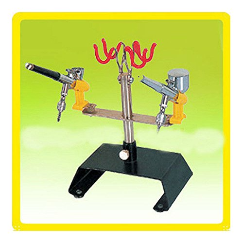 Four Station Art Center (HOLDER - Airbrush Station Stand Tabletop Holder (Holds Up To 4 Airbrushes))