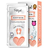 Foot Peel Mask 2 Pack Exfoliating Cracked Heel
