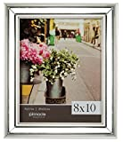 mirrored picture frames Pinnacle Frames and Accents 15FP1777 Mirrored Slant, Clear