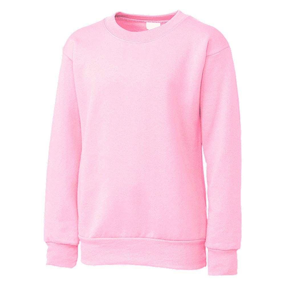Small Clique Basic Big Boys Comfortable Fleece Sweatshirt Pale Pink