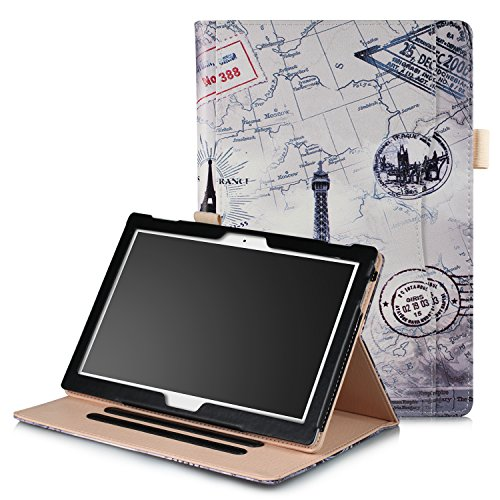 ProElite Smart handstrap Case Cover for Lenovo Tab 4 10 / Tab 4 10 Plus/Tab E10 Tablet (Eiffel)