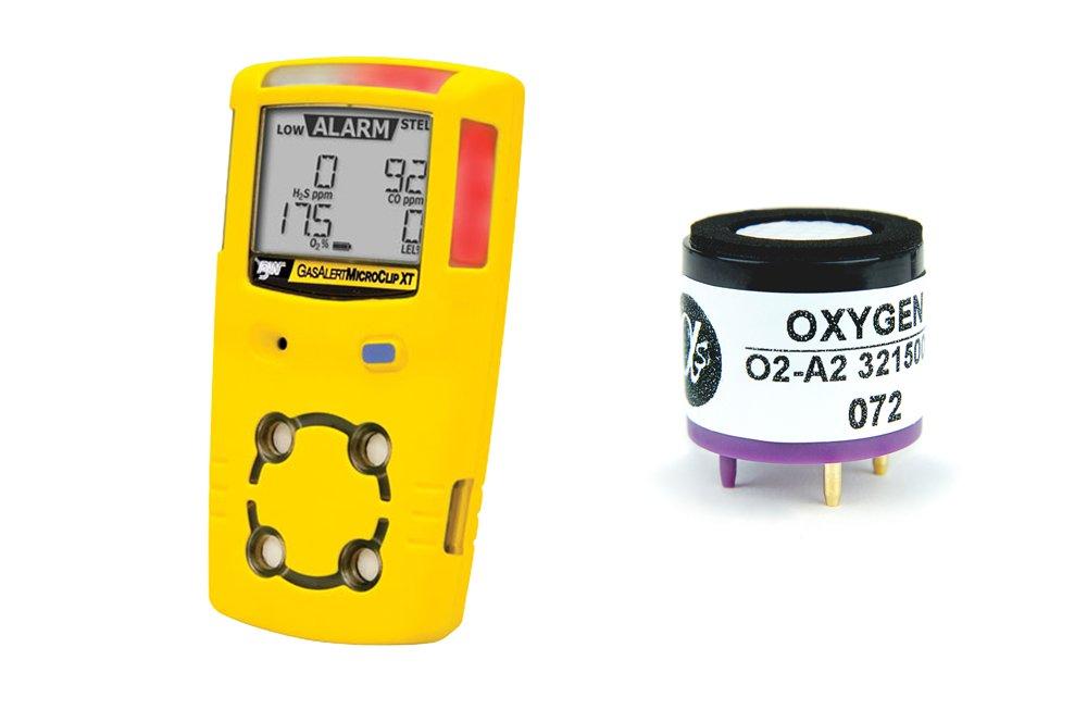 Replacement Oxygen Sensor for BW Tech Gas Alert MicroClip XT by Alphasense