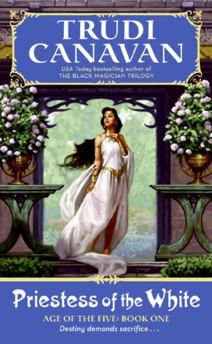 book cover of Priestess of the White