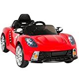 12 volt battery kids car - Best Choice Products Kids 12V Ride On Car with MP3 Electric Battery Power, Red