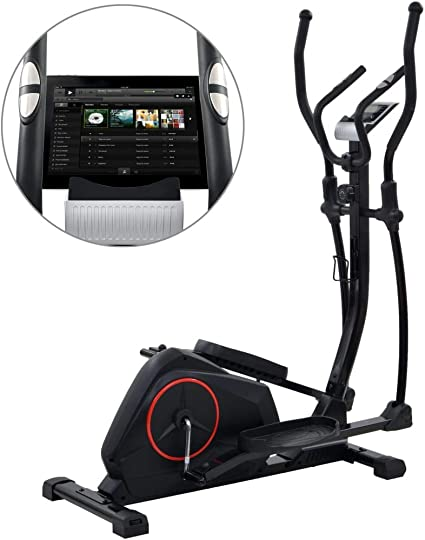 vidaXL Bicicleta Elíptica XL Rotación Maquina Gym Entrenamiento ...