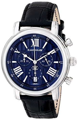 Thomas Earnshaw Men s ES-0016-02 Longcase Stainless Steel Watch