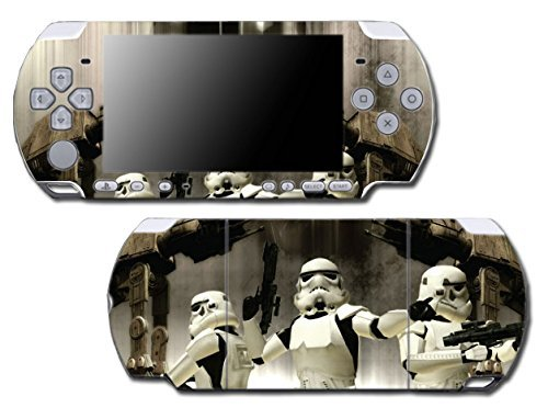 Star Wars Empire AT AT ST Stormtrooper Sith Video Game Vinyl Decal Skin Sticker Cover for Sony PSP Playstation Portable Slim 3000 Series System by Vinyl Skin Designs