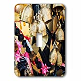 3dRose Danita Delimont - Objects - Thailand, Phuket Island, Bells of Faith at Phuket Big Buddha - Light Switch Covers - single toggle switch (lsp_276969_1)