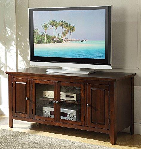 Acme Chic Modern Chocolate Finish TV Stand