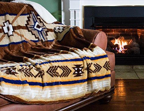 - Cozy Fleece SW Neutral Throw, 60 x 80,