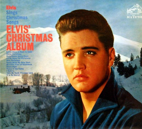 Elvis' Christmas Album (Blue Hawaii Album Elvis)