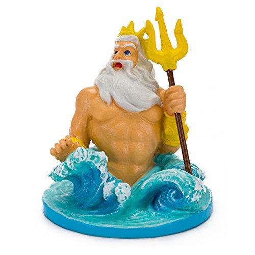 Penn-Plax (LMR76) Disney's Little Mermaid King Triton Aquarium Ornament, Mini