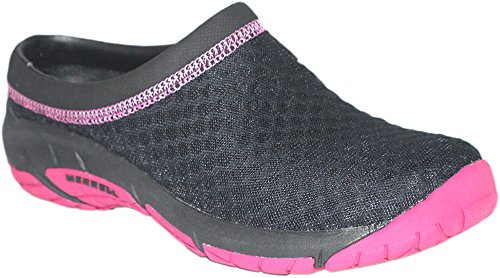 Merrell Women's Primo Breeze III Clog (11 M US, Black) (Merrell Fur Clog)